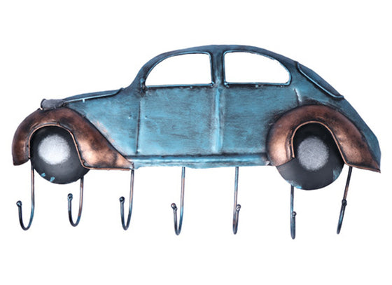 Blue Car Wall Hook