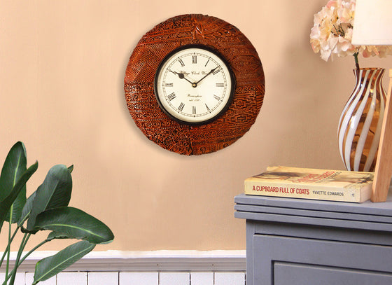 Antique Wooden Design Wall Clock
