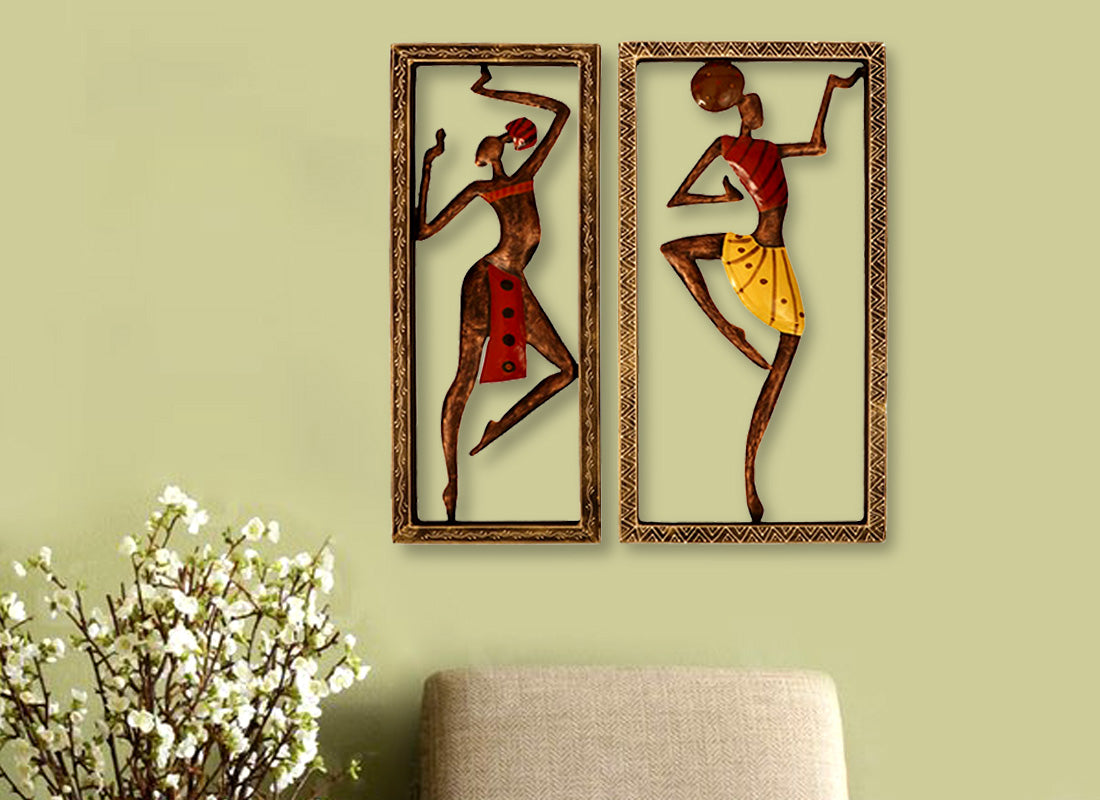 Buy Tribal Women Wall Frame Décor at Lowest Rates On Craftedindia.com