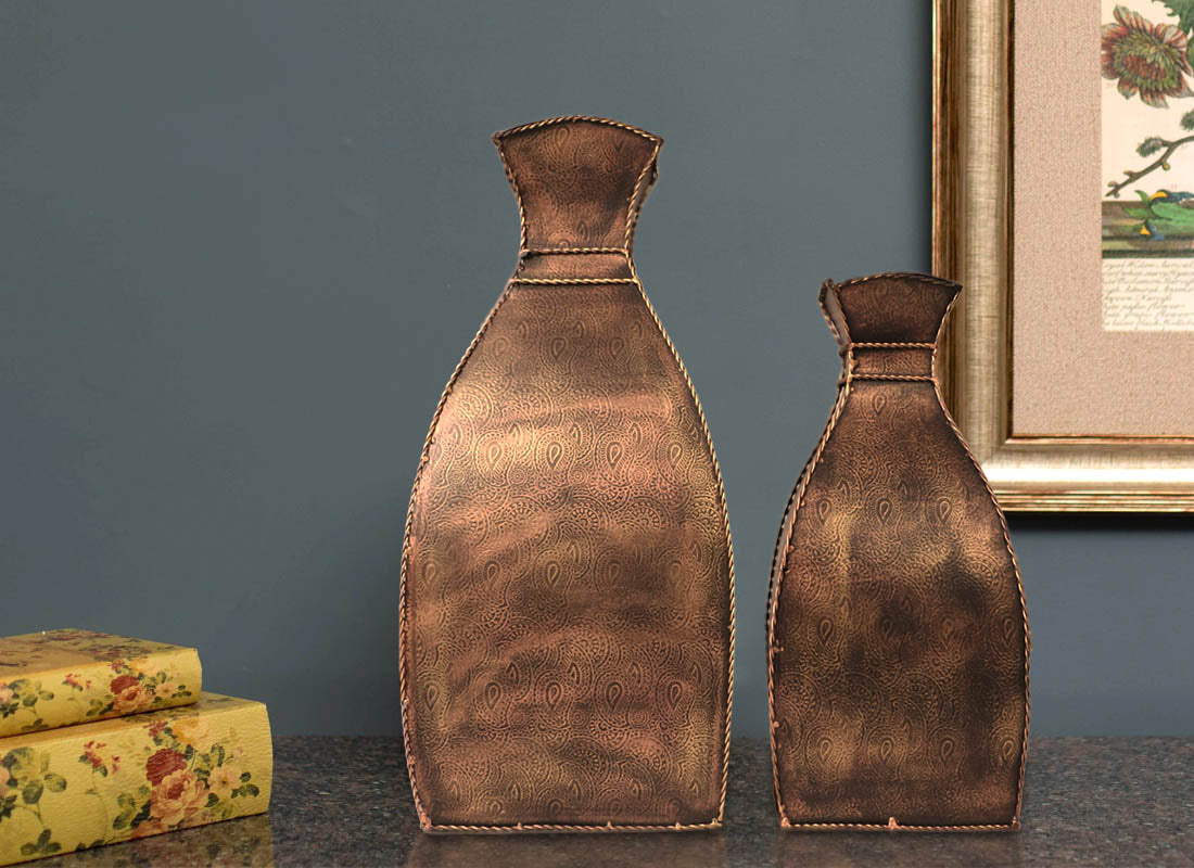 Antique vase online small decorative glass vases from craftedindia square shape metal showpiece pots reviewsmspy