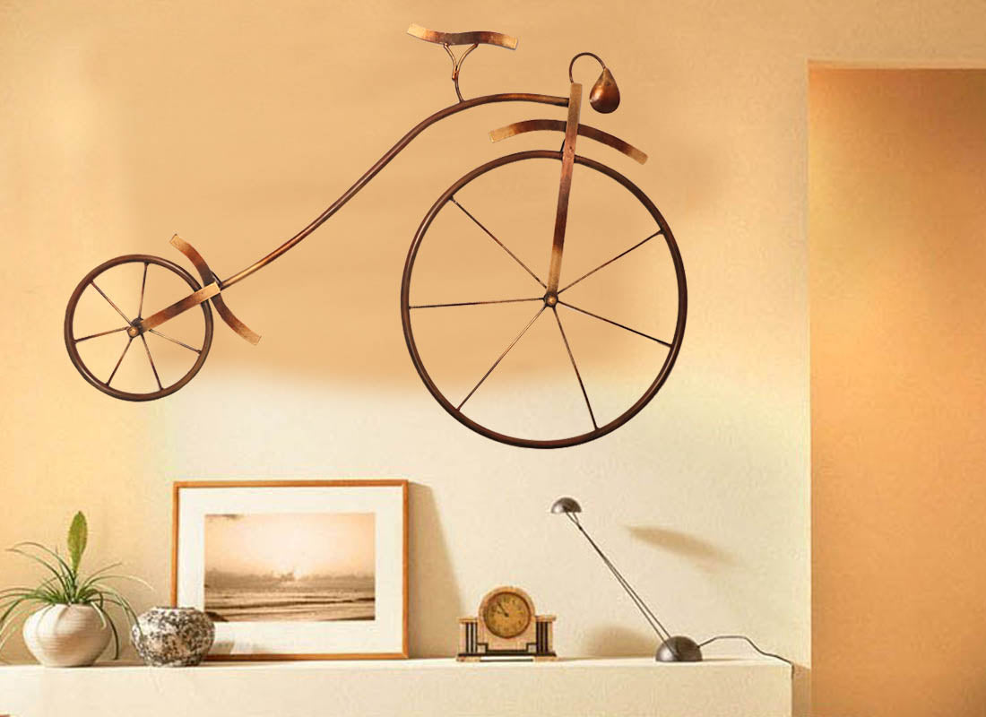 Buy Handcrafted Iron Cycle Wall Décor at Lowest Rates On ...