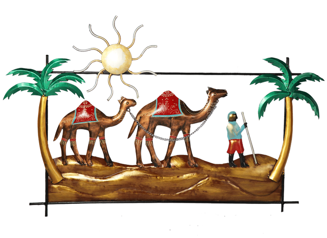 Dessert Safari Metal Wall Hanging