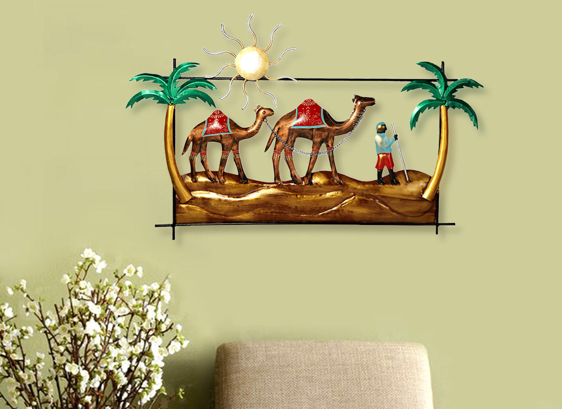 Buy Dessert Safari Metal Wall Hanging at Lowest Rates On ...