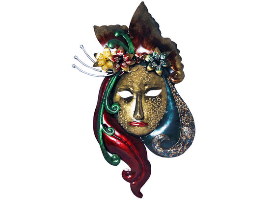 Design Colorful Wall Mask