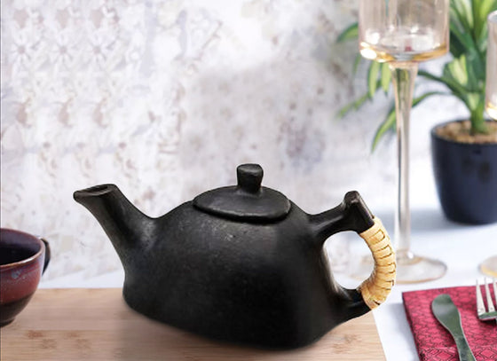 Handmade Triangular Tea pot