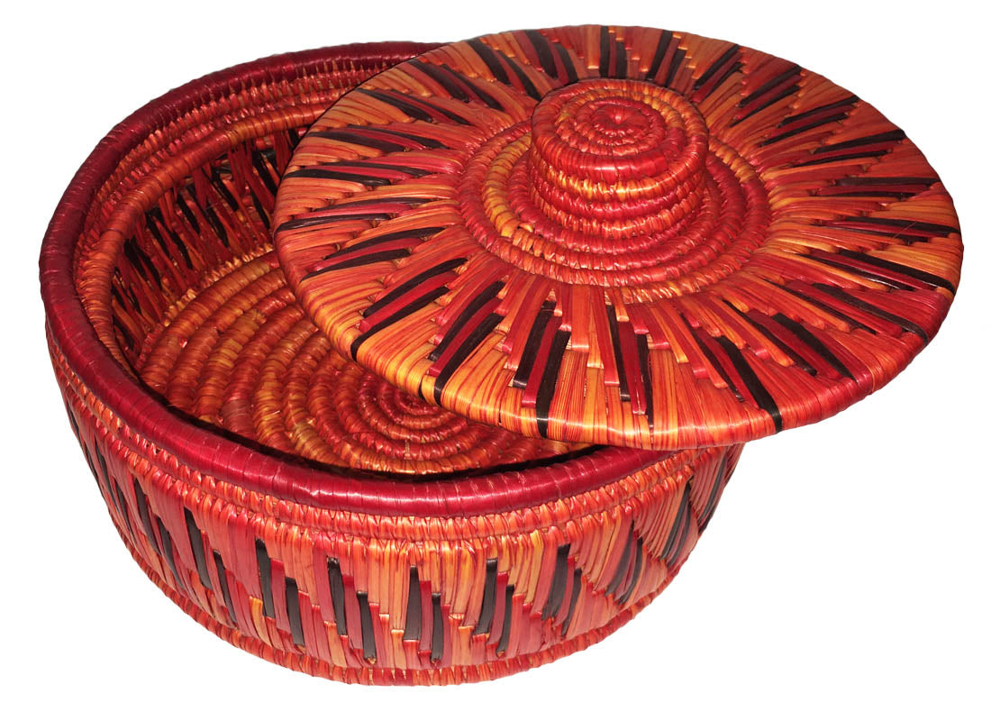 Hand-painted Chapatti Basket