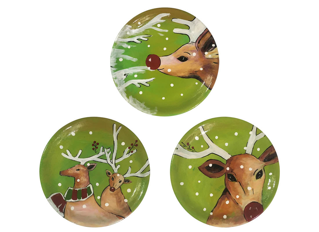 Exquisite Christmas Art Wall Hanging Plate