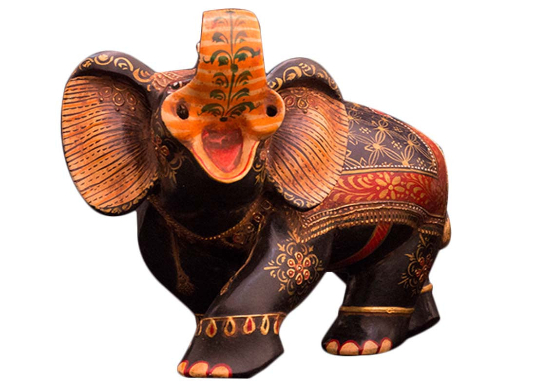 antique elephant showpiece