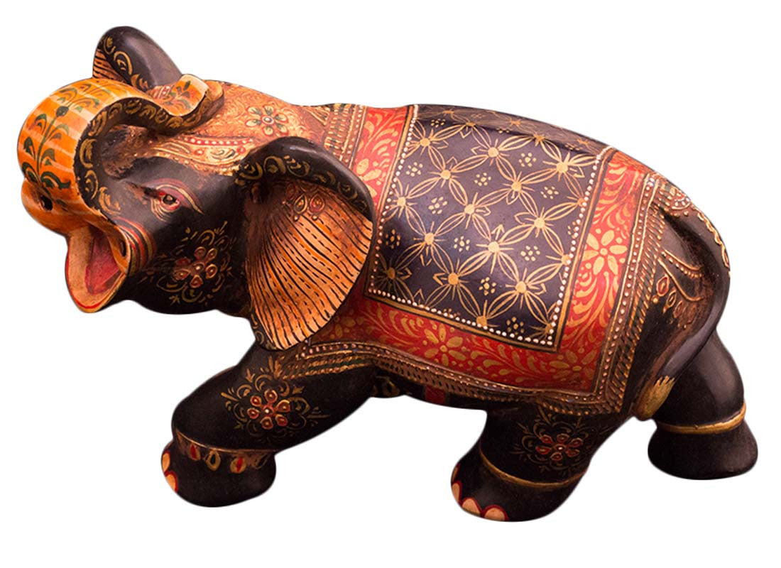 Handcrafted antique elephant showpiece