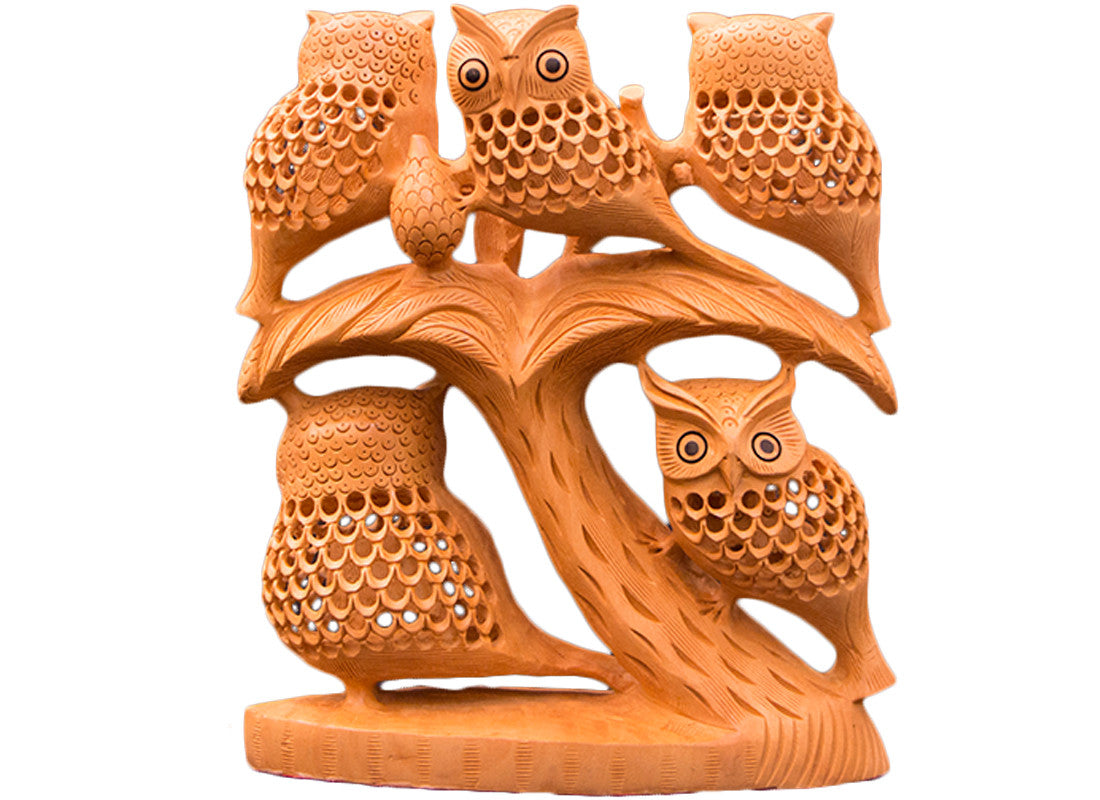 creative owl showpiece
