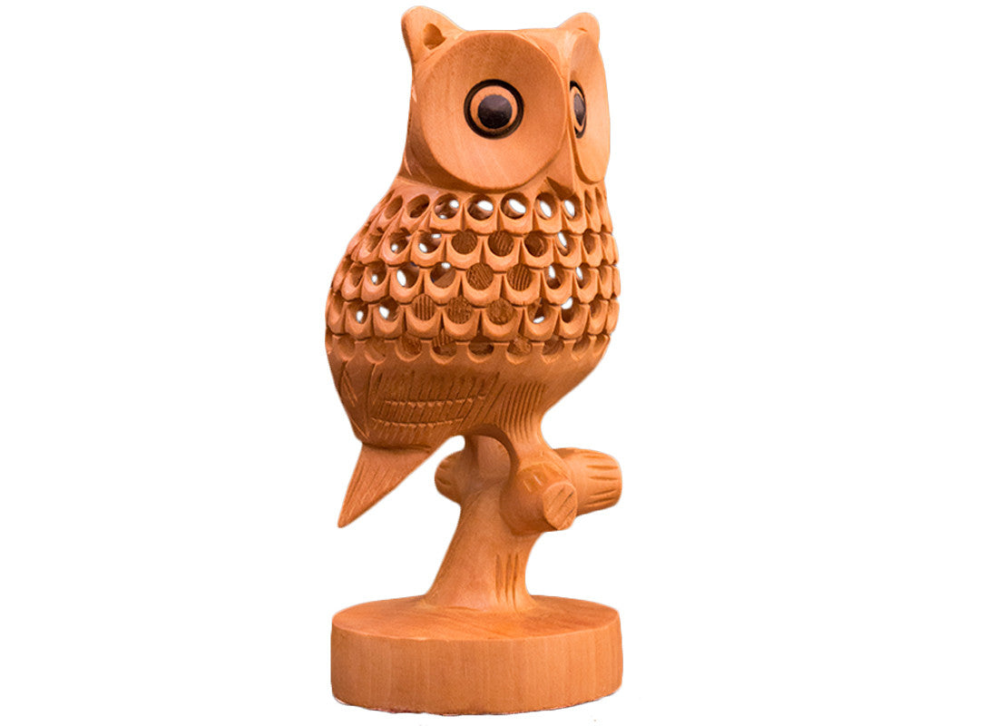attractive owl figurine