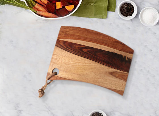 Dual Color Wooden Chopping Board