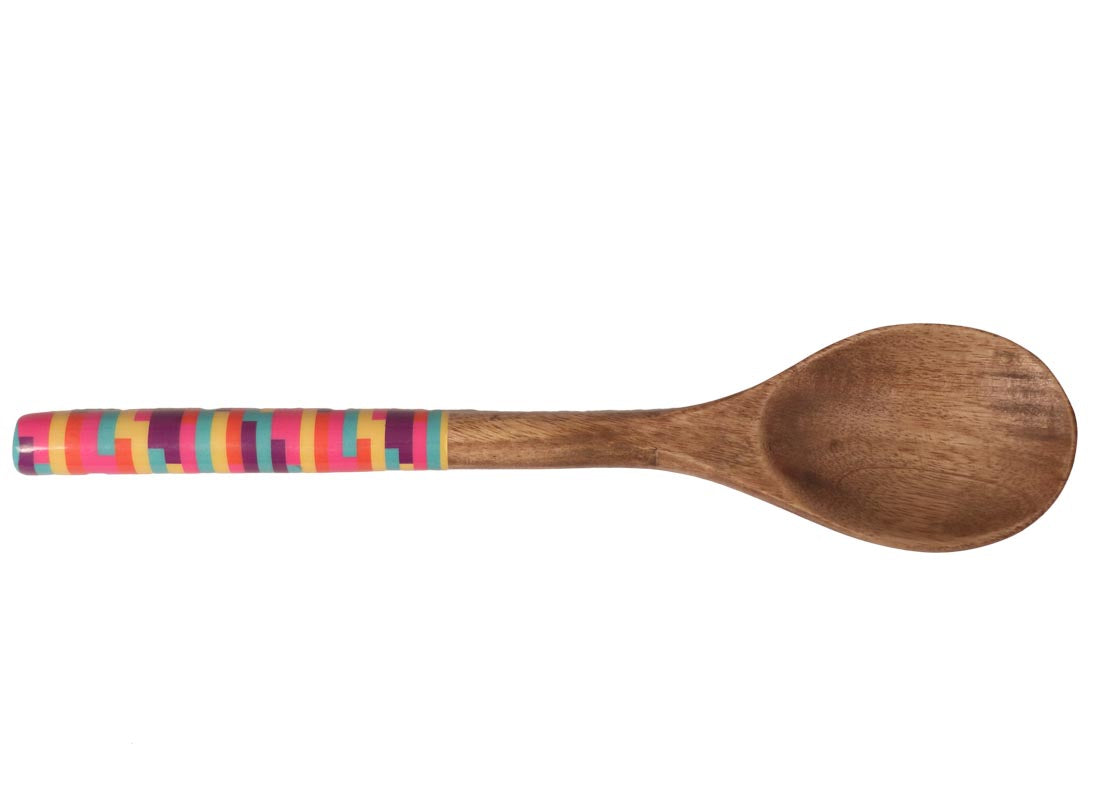 Colorful Design Salad Serving Spoon