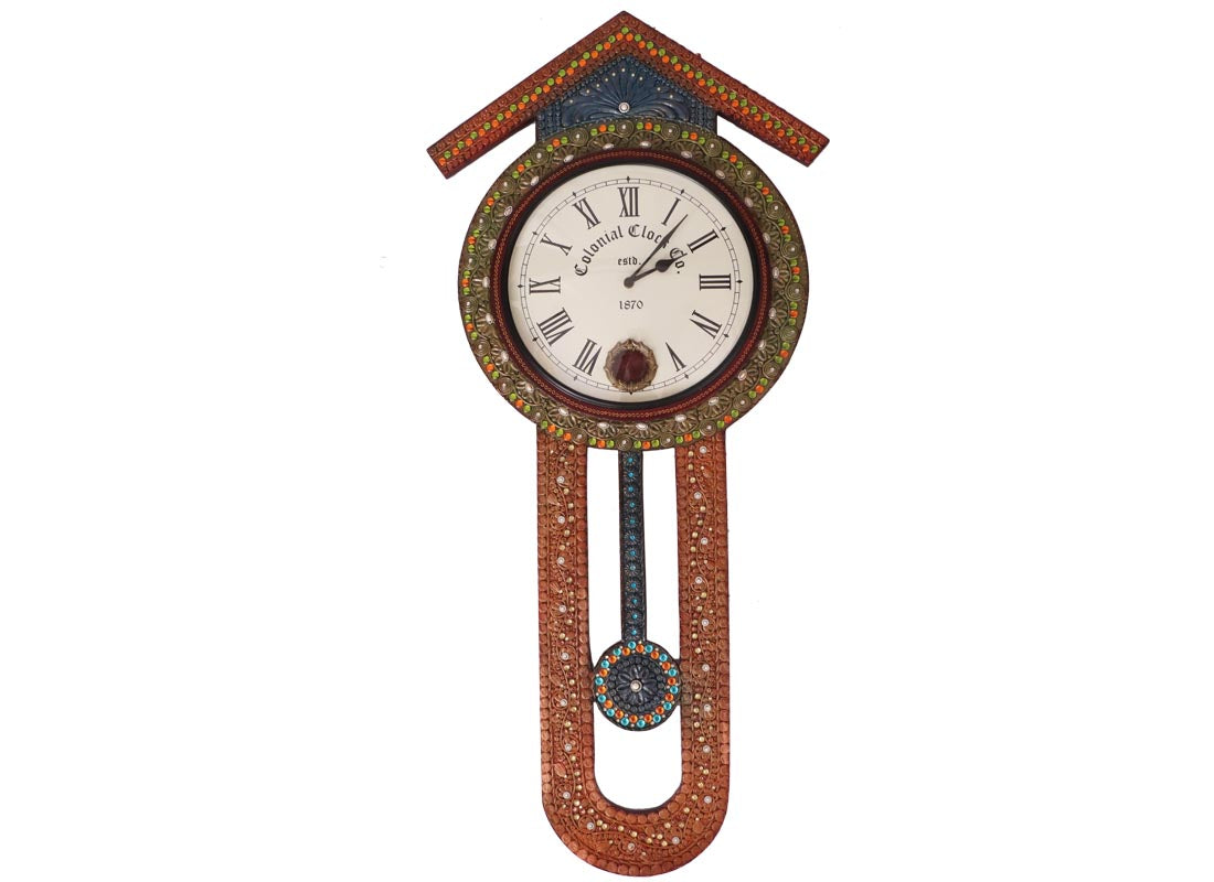 Buy vintage style wooden pendulum wall clock online at discount prices vintage style wooden pendulum wall clock amipublicfo Images