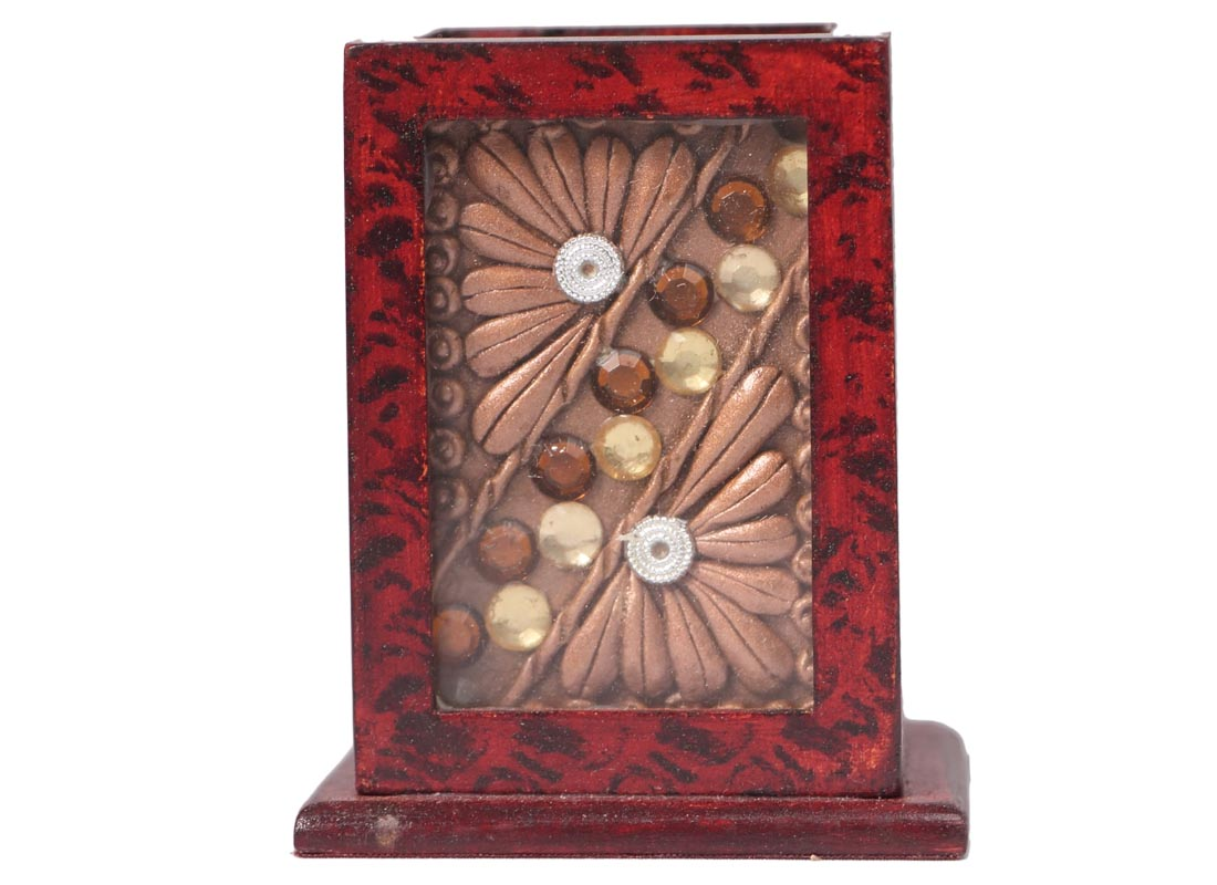 Decorative Wooden Stationery Stand