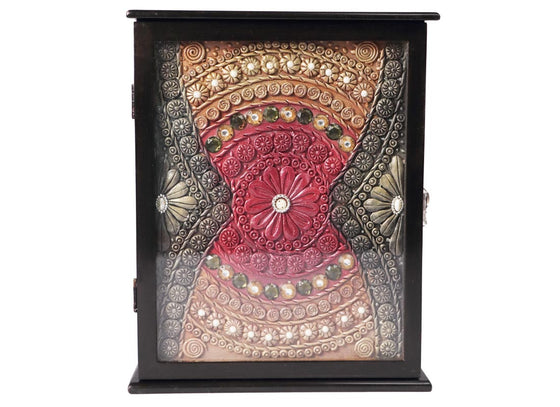 Traditional Art Handmade Key Holder Box
