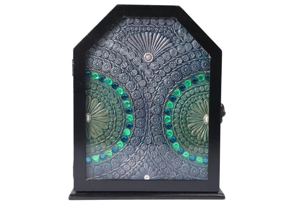 Decorative Stone Studded Key Holder Box