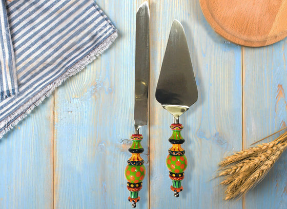 Cake Knife & Server Set of two