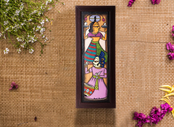 Handcrafted Home Decor Phad Design Painting