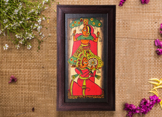 Designer Phad Wooden Canvas Painting