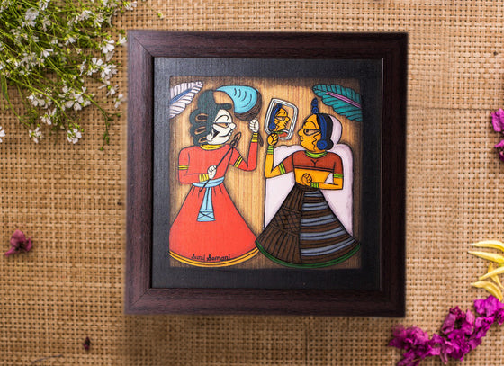 Antique Phad Canvas Painting Art Décor