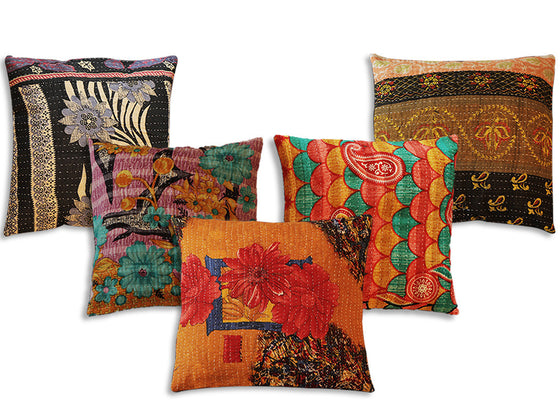 Cotton Cushion Designer Cover Set
