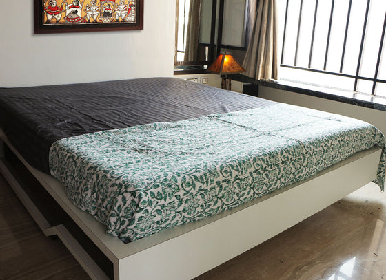 Cotton Handcrafted Bed Sheet