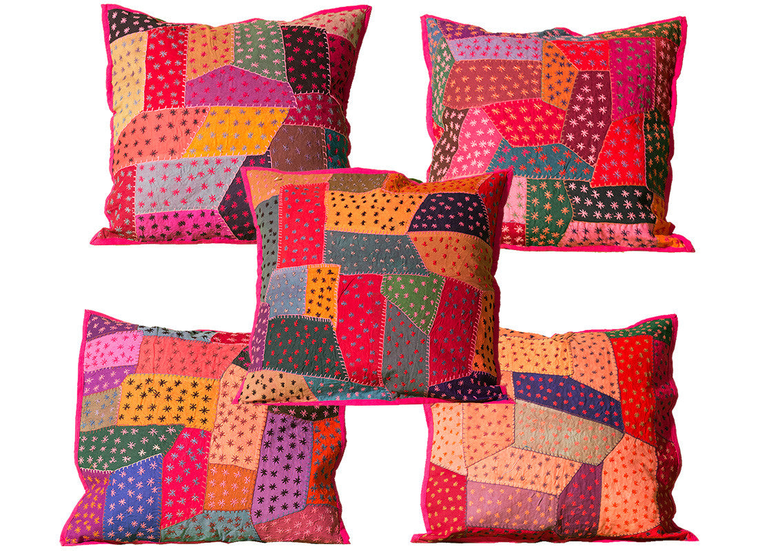 Cotton Multicolored Patchwork