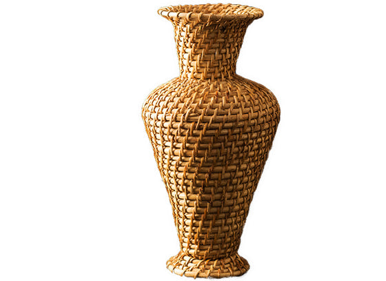 Decorative cane showpiece vase