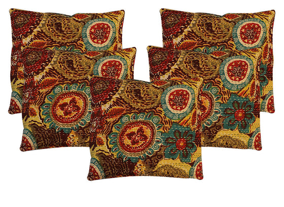 Designer print cotton cushion covers
