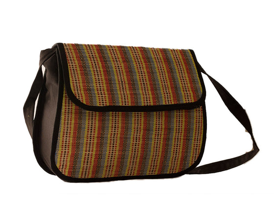 Eco-friendly bamboo sling bag