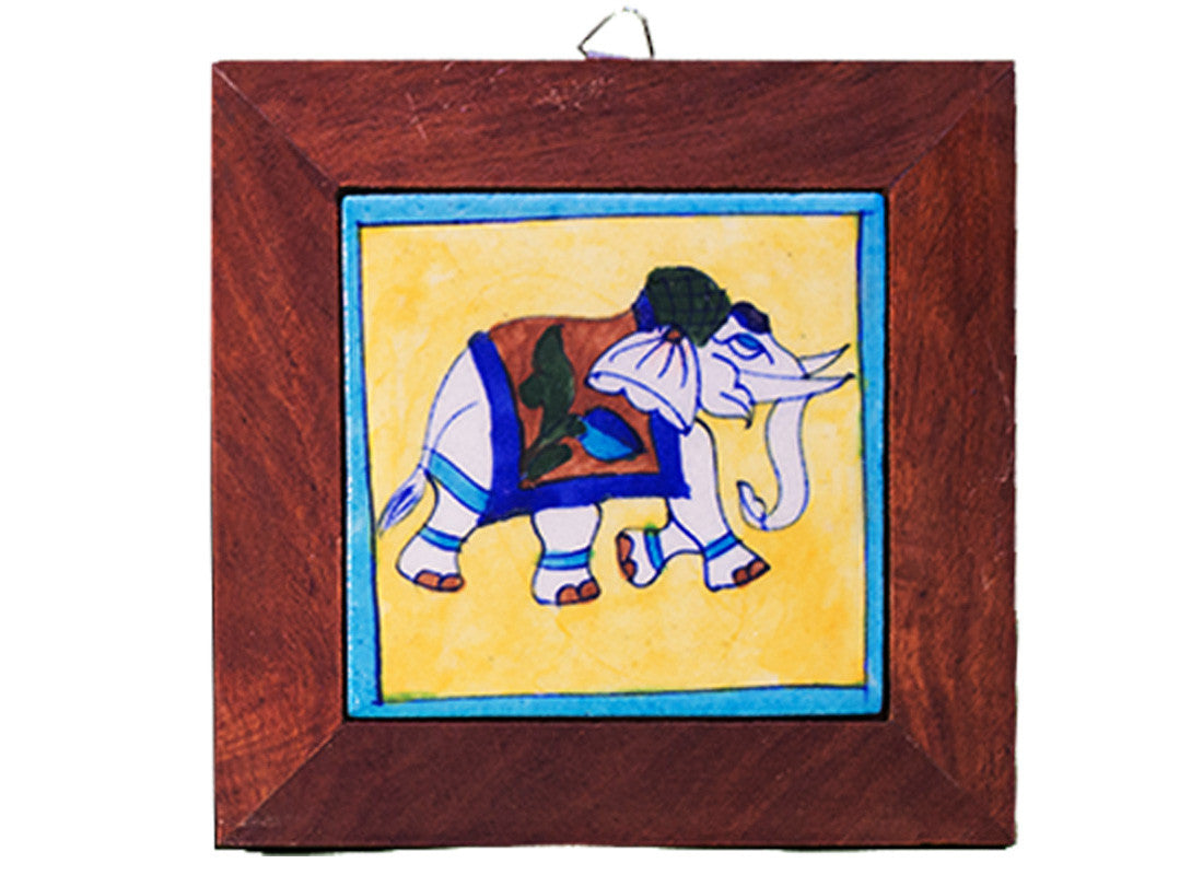 Buy Elephant Design Wooden Wall Hanging at Lowest Rates On ...