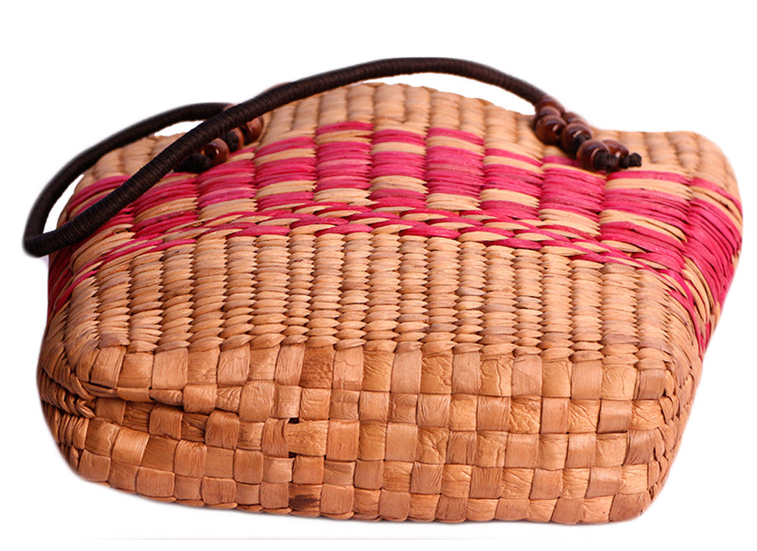 Ethnic Hand-woven Cane Purse