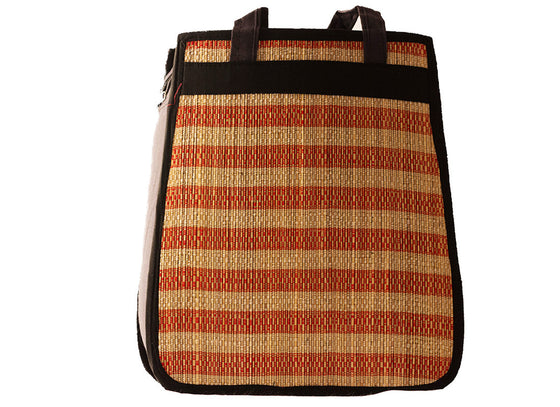 Ethnic design tote bag