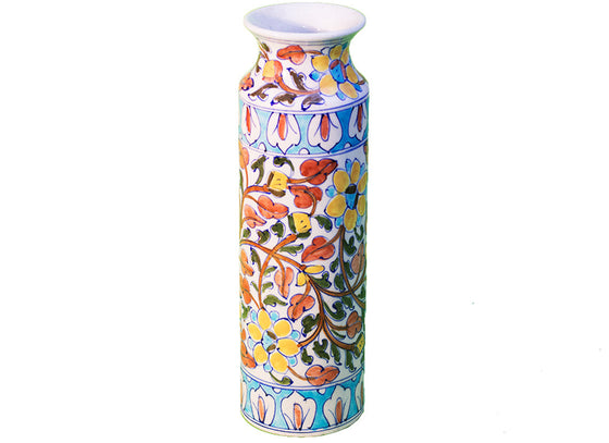Floral decorative vase
