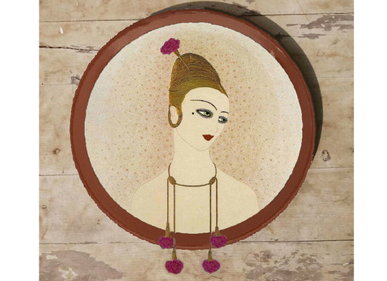 French lifestyle wall plate decor