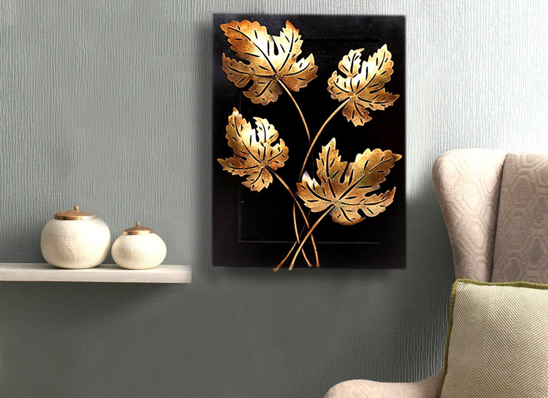 Maple Leaf Wall Hanging Handmade Wall Art Decor Home Decor