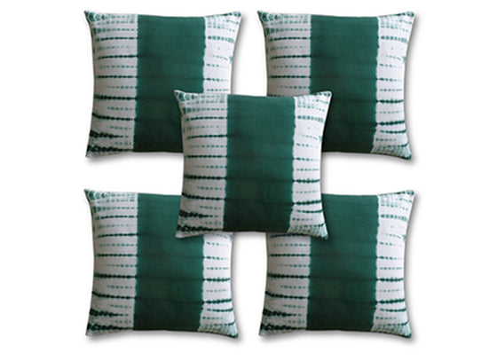 Green Shaded Cushion Covers