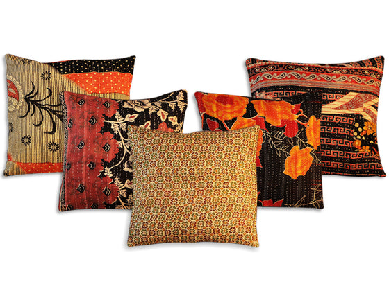 Hand Woven Rajasthani Cushion Cover Set