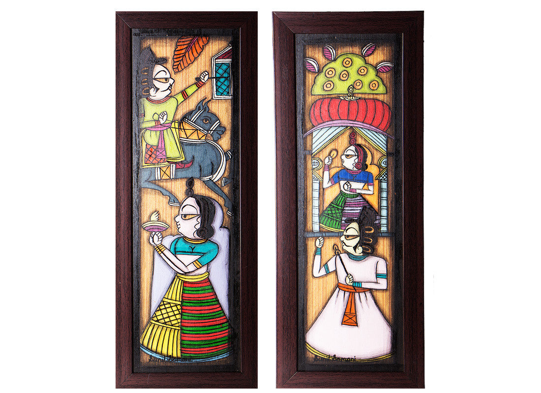 Handcrafted Tribal Folks Paintings