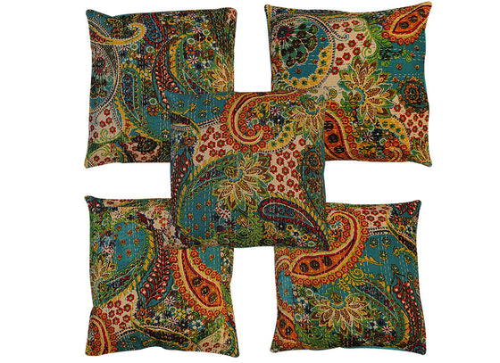 Handcrafted square cushion cover