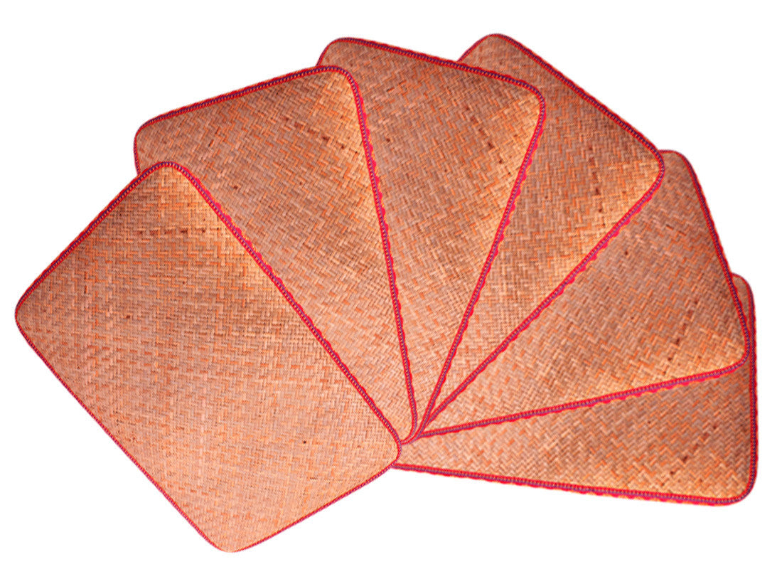 Cane Table Mats Fancy Dining Table Mats Bamboo Products Online