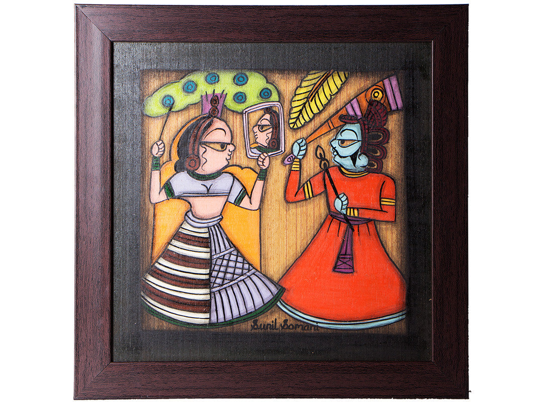 Handicraft painting