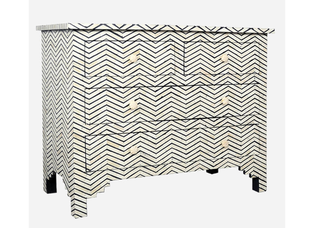 Dresser Chest Islamic Geometry Pattern