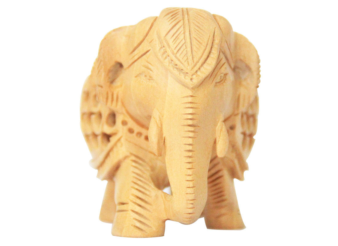 Buy Wooden Elephant Table Décor at Lowest Rates On Craftedindia.com