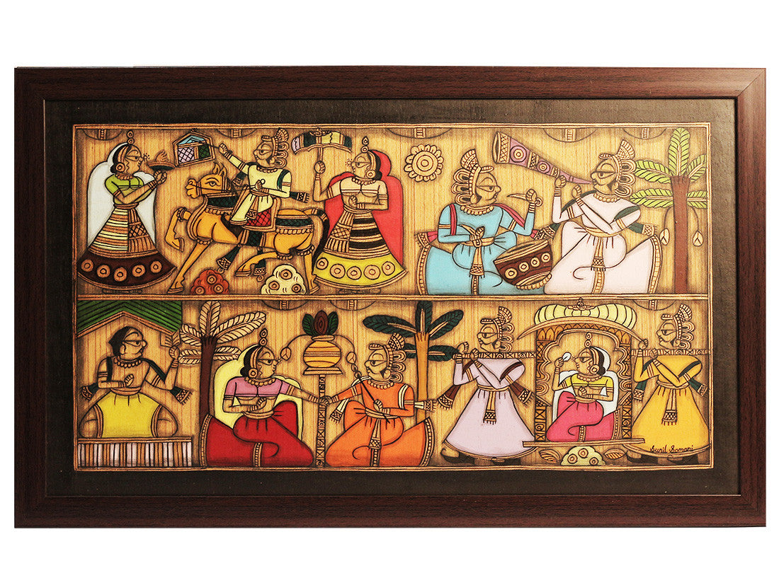 Indian Designer Phad Painting