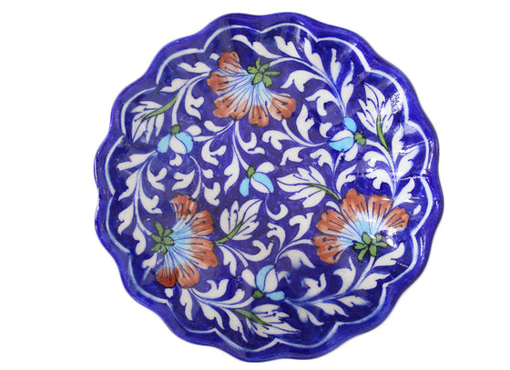 Blue Pottery Plates India Online
