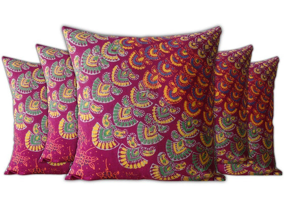 Jaipuri Block Cushion Cover