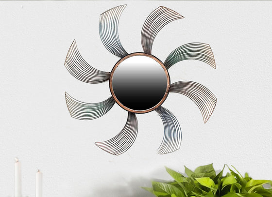 Spinner Decorative Mirror Wall Decor