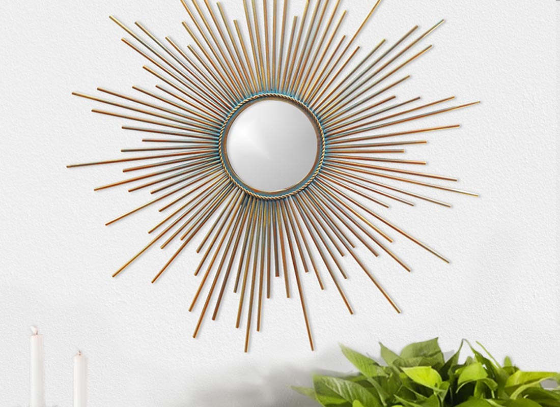 Beautifully Crafted Nora Wall Mirror